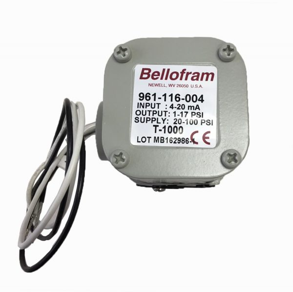 Marsh Bellofram Type 1000 Transducer 1-17 PSI