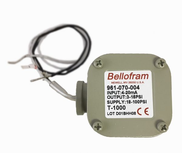 Marsh Bellofram Type 1000 Transducer 3-15 PSI