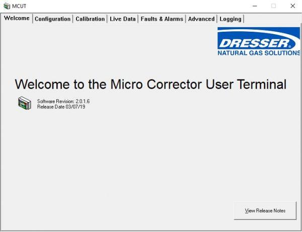 MCUT User Terminal Software